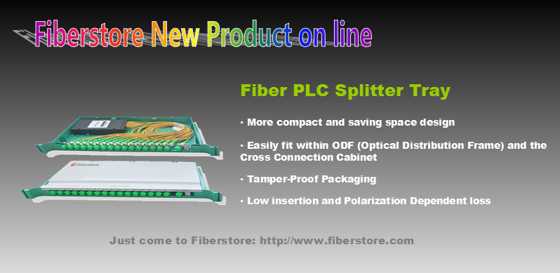 PLC splitter tray
