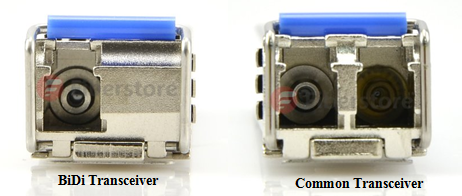 Bidi transceiver vs common transceiver