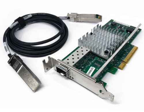 SFP+ DAC Twinax cables in NiC