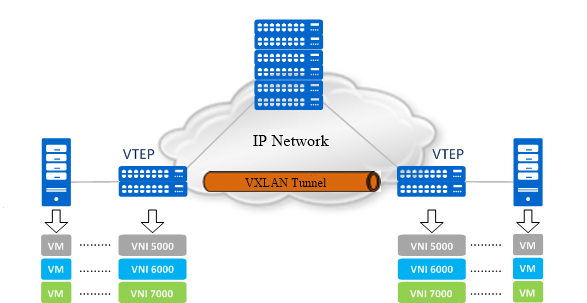 VXLAN vs VLAN: Which Is the Best Fit for Cloud Data Center?