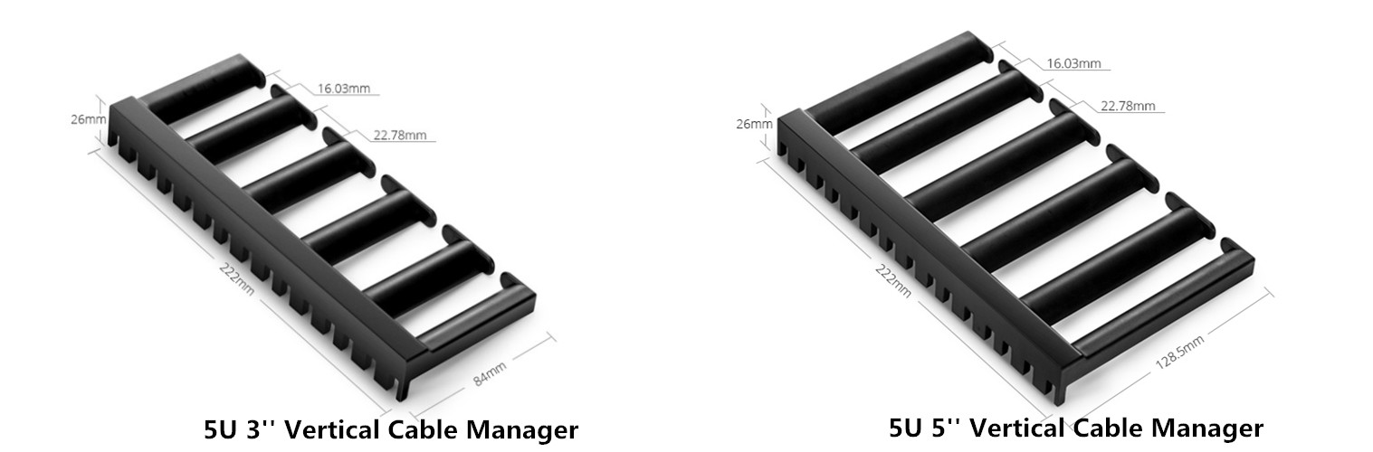 5U Vertical Cable Manager