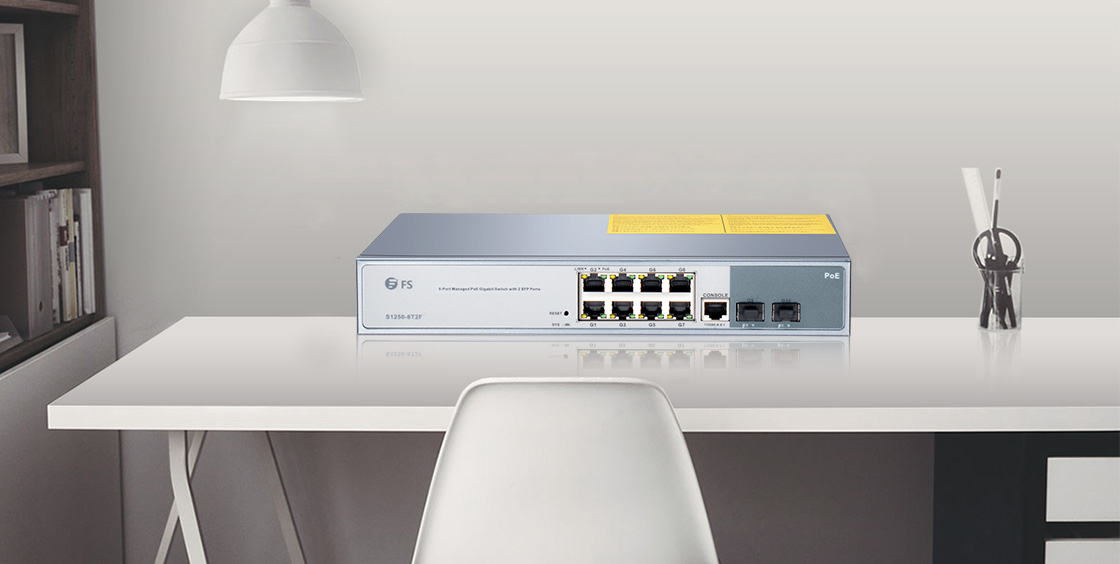 poe Gigabit Ethernet Switch