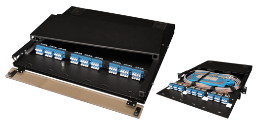 High-Density Slide-Out 1RU Rack Mount PatchPanel