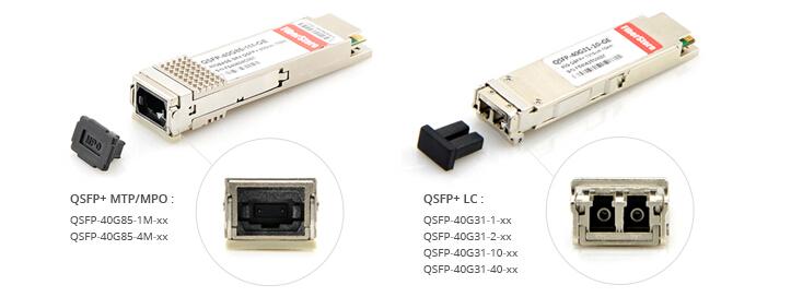QSFP+ connectors