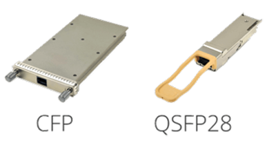 100GBASE-SR4 VS 100GBASE-SR10 form-factor