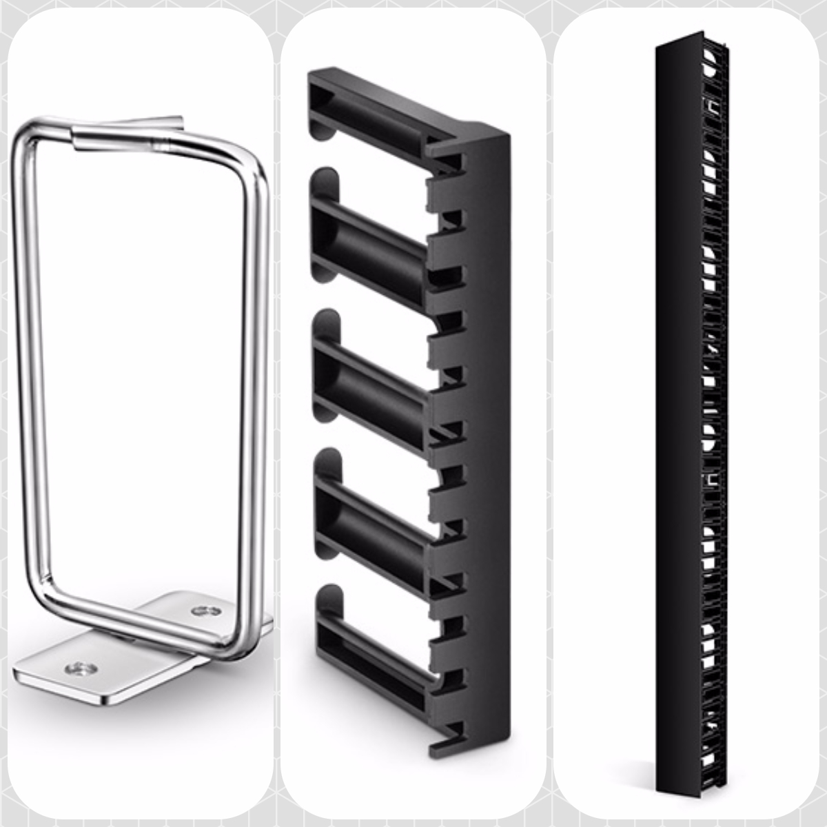 vertical rack cable manager types